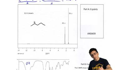 Draw the molecule with a molecular formula of C5H8O2described by the spectra...