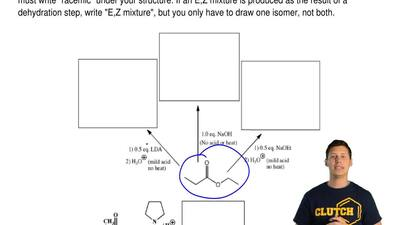 For the following reactions, draw the predominant product or products. When a ...