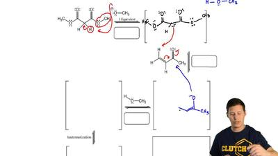 Complete the mechanism for the following Michael reaction. Be sure to show arr...