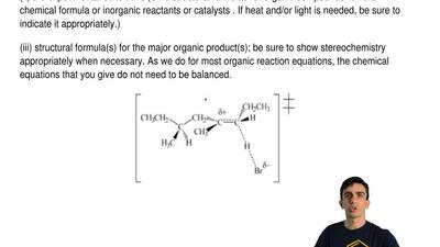 For the transition state structure below, choose an organic reaction in which ...