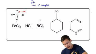 Select all the Lewis Acids in the group of compounds below:    ...
