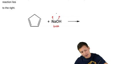 It may be surprising to a new organic student that the following reaction lies...