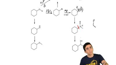 Give reagents involved in the following transformations. ...