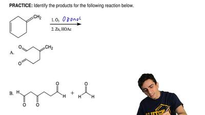 Identify the products for the following reaction below. ...