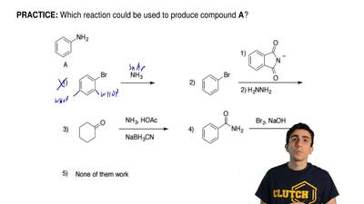 Which reaction could be used to produce compound A? ...