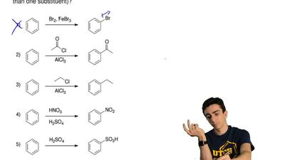 Which aromatic substitution is prone to over-reaction (which reaction may add ...