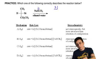 Which one of the following correctly describes the reaction below? ...