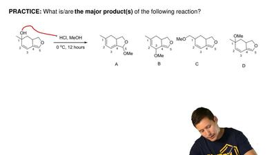 What is/are the major product(s) of the following reaction? ...