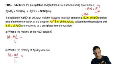 how to prepare 100 ppm solution of nacl