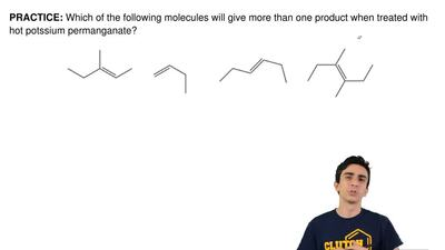 Which of the following molecules will give more than one product when treated ...