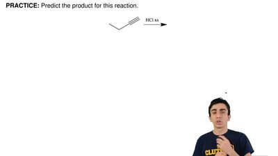Predict the product for this reaction. ...