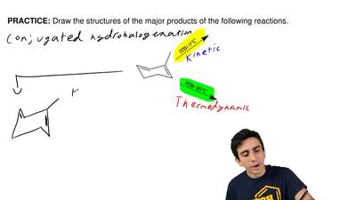 Draw the structures of the major products of the following reactions. ...