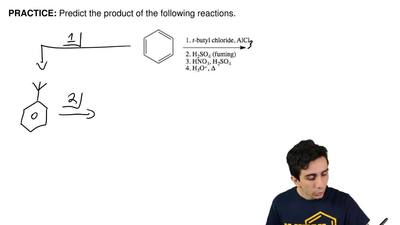 Predict the product of the following reactions.    ...