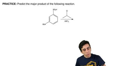 Predict the major product of the following reaction.  ...