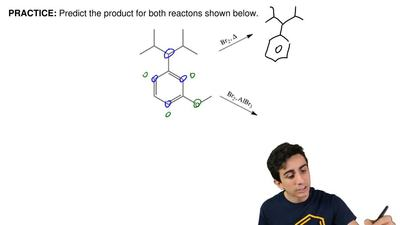 Predict the product for both reactions shown below.  ...
