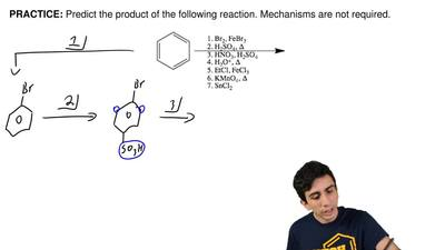 Predict the product of the following reaction. Mechanisms are not required. ...