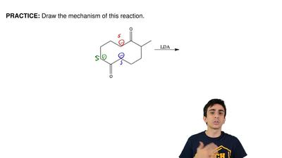 Draw the mechanism of this reaction. ...