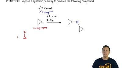 Propose a synthetic pathway to produce the following compound.       ...