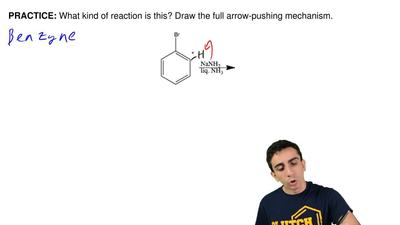 What kind of reaction is this? Draw the full arrow-pushing mechanism.  ...