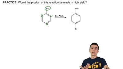 Would the product of this reaction be made in high yield? ...