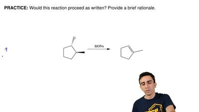 Would this reaction proceed as written? Provide a brief rationale.       ...