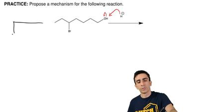 Propose a mechanism for the following reaction. ...