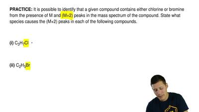 It is possible to identify that a given compound contains either chlorine or b...