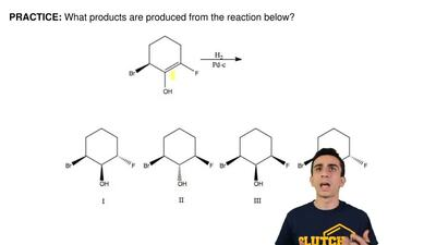 What products are produced from the reaction below? ...