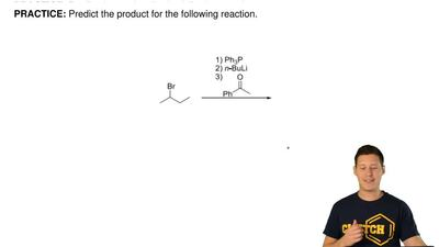 Predict the product for the following reaction.     ...