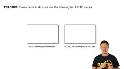 Draw chemical structures for the following two IUPAC names.        ...
