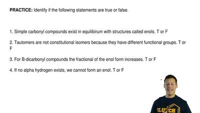 Identify if the following statements are true or false.    1. Simple carbony...