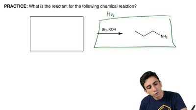 What is the reactant for the following chemical reaction? ...
