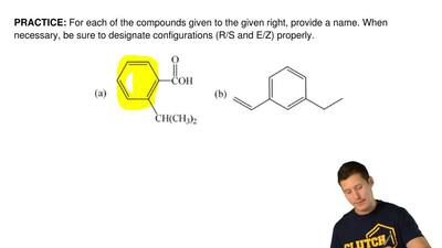 For each of the compounds given to the given right, provide a name. When neces...
