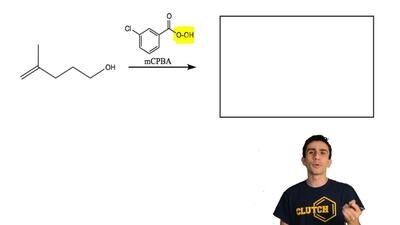 Complete the following reaction with the correct structure of the product. Don...