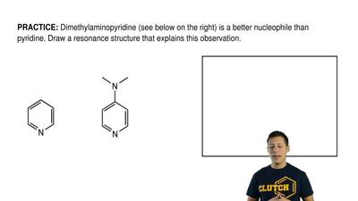 Dimethylaminopyridine (see below on the right) is a better nucleophile than py...