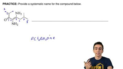 Provide a systematic name for the compound below. ...