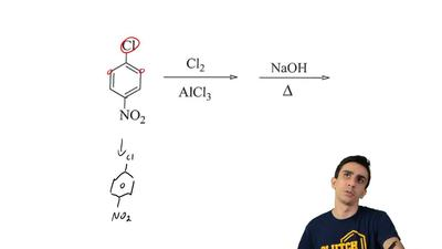 Predict the major product for the following reaction paying attention to the r...