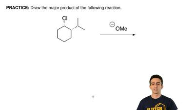 Draw the major product of the following reaction. ...