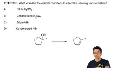 What would be the optimal conditions to effect the following transformation? ...