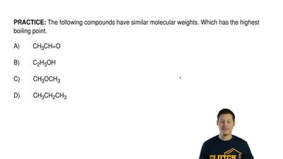The following compounds have similar molecular weights. Which has the highest ...