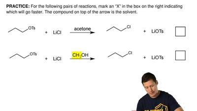 "For the following pairs of reactions, mark an ""X"" in the box on the right indi..."