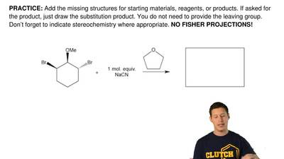 Add the missing structures for starting materials, reagents, or products. If a...