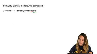Draw the following compound.  2–bromo–1,4–dimethylcyclohexane ...