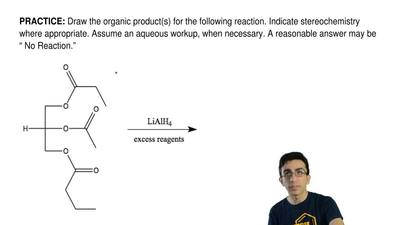 Draw the organic product(s) for the following reaction. Indicate stereochemist...