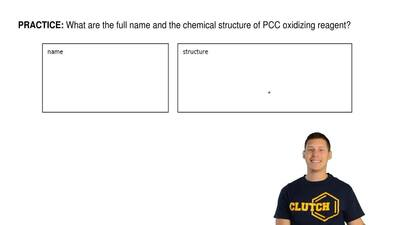 What are the full name and the chemical structure of PCC oxidizing reagent? ...
