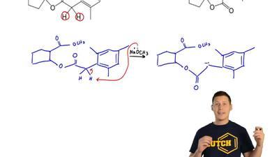 Draw areasonable mechanismfor the reactionbelow. ...