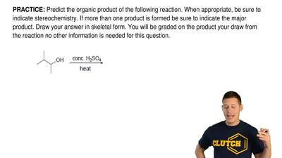 Predict the organic product of the following reaction. When appropriate, be su...