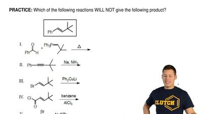Which of the following reactions WILL NOT give the following product? ...