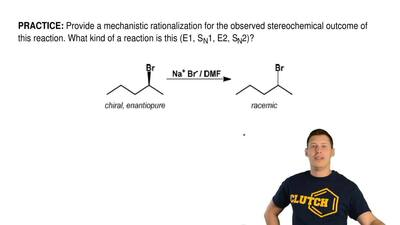 Provide a mechanistic rationalization for the observed stereochemical outcome ...