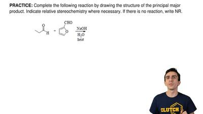 Complete the following reactionby drawing the structureof the principal majo...
